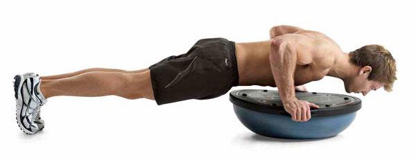flexiones sobre bossu