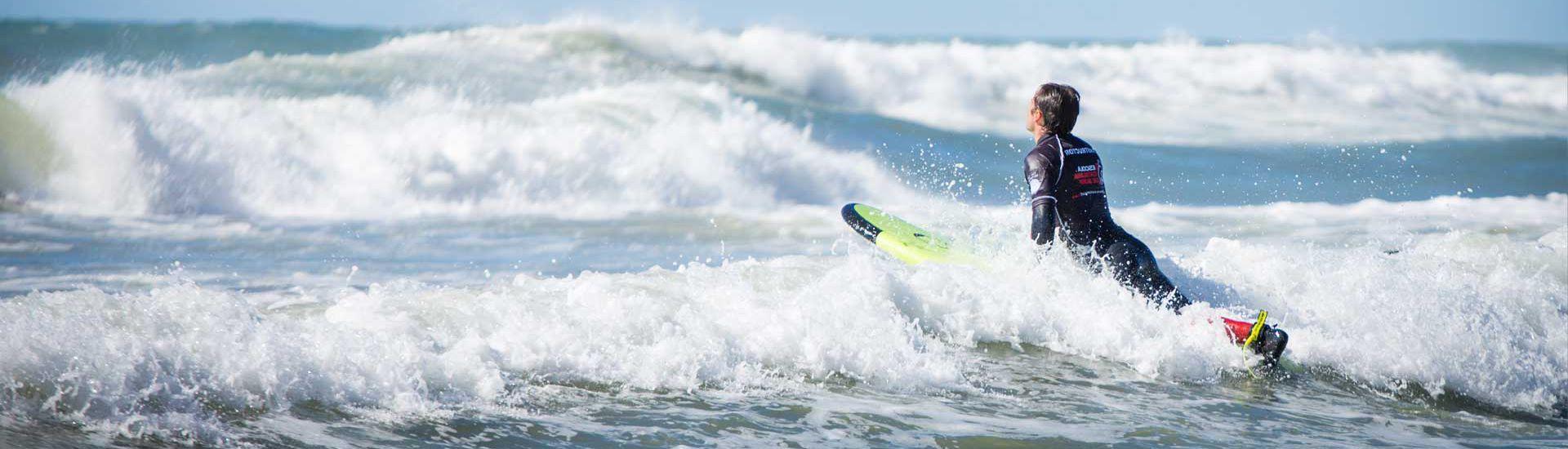 Classe de surf (2 hores)