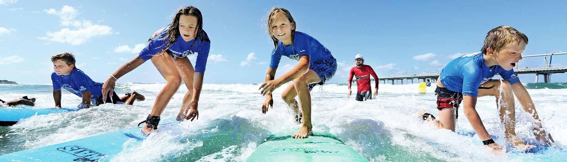 Casals d'estiu de Surf