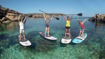Classes de Paddle Surf