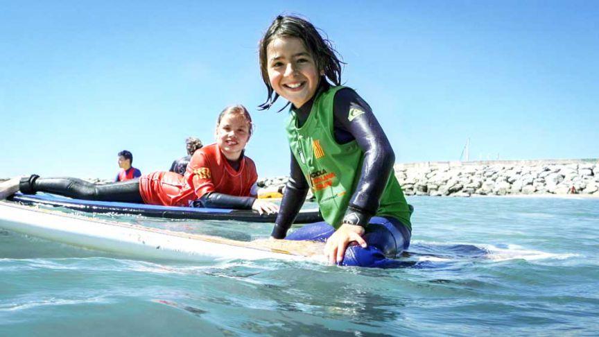 Ja és aquí el millor casal d'estiu de Surf de Catalunya!
