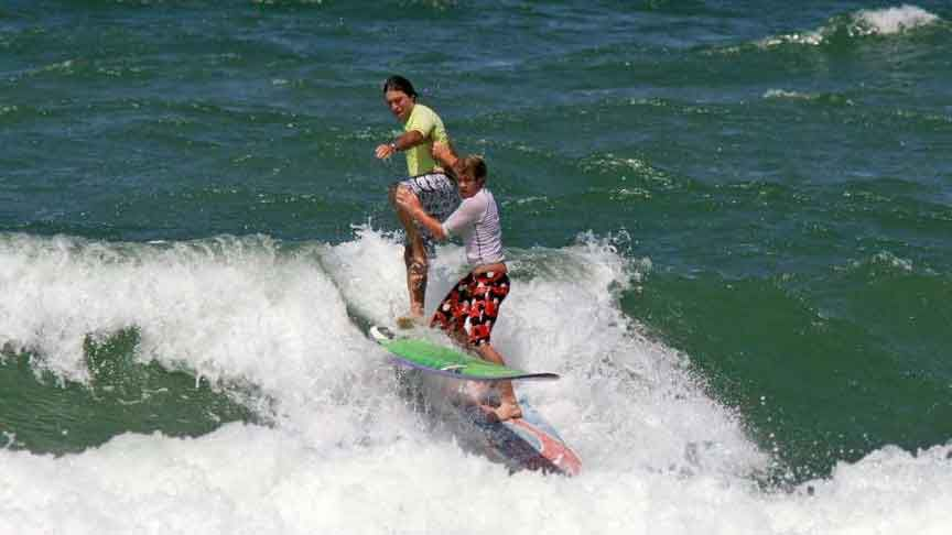 Interferències en el Surf