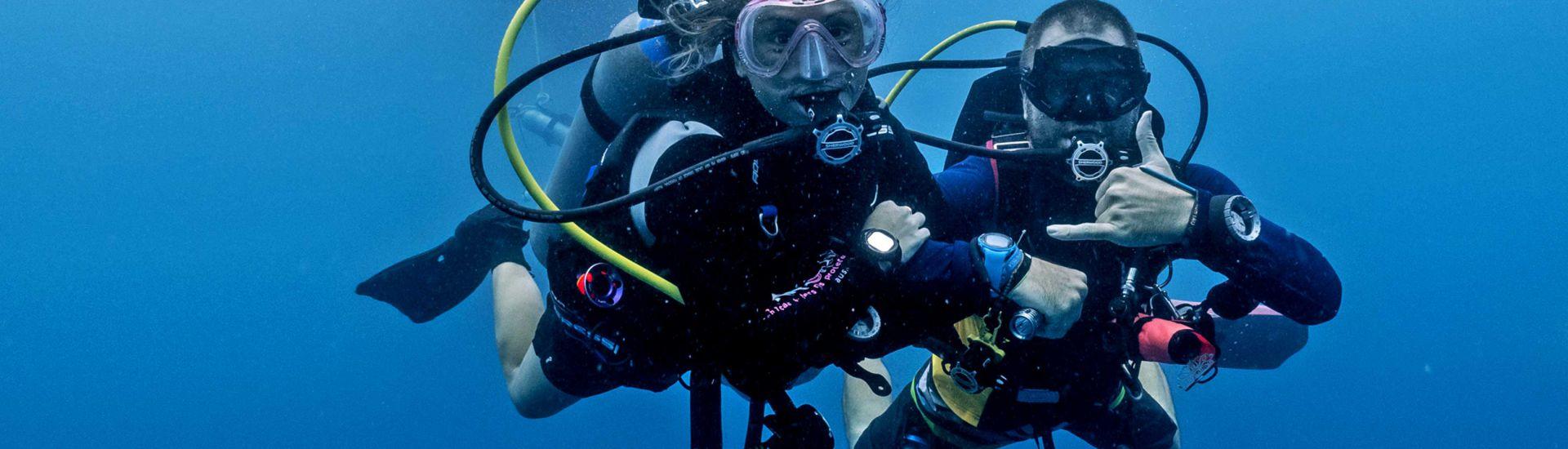 Curs de Busseig Open Water Diver
