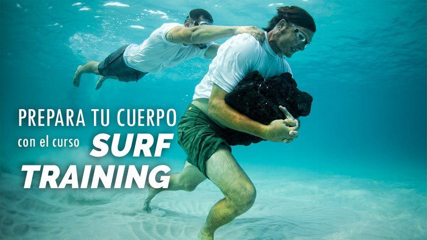 Te invitamos a la sesión de prueba del curso Surf Training