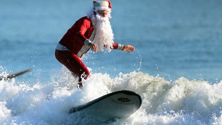 4 formas de celebrar la Navidad para los amantes del surf