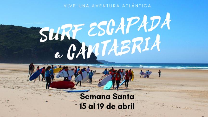 Surf Camp Semana Santa a Cantabria