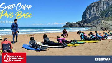 Ven de Surf Camp a Laga y Mundaka