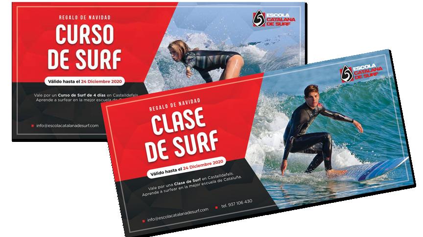 Esta Navidad regala surf - ¡25% de descuento!