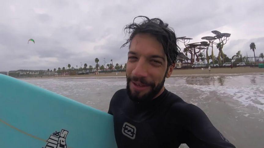 Primera sesión de surf: ¡superada!