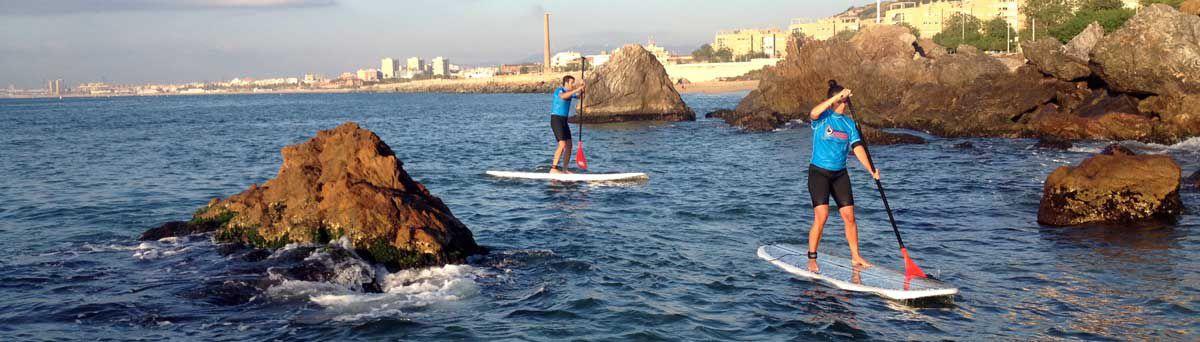 Clases de Paddle Surf Barcelona - Escola Catalana de Surf 36ae5b50278