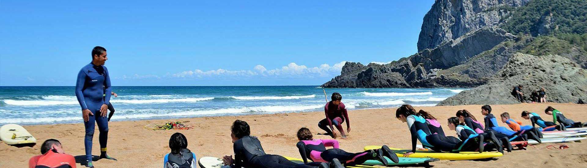 Surf Camp Semana Santa País Vasco