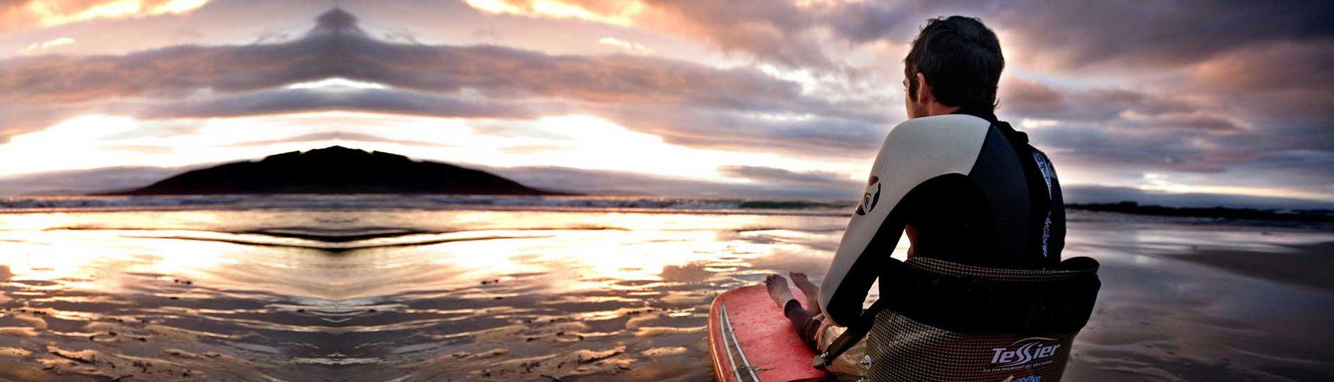 Clase especial de Surf inclusivo