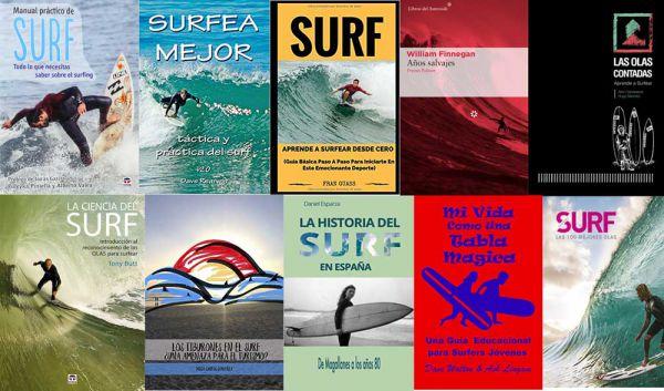 10 libros de surf para regalar el día del libro 0c0faceb96c