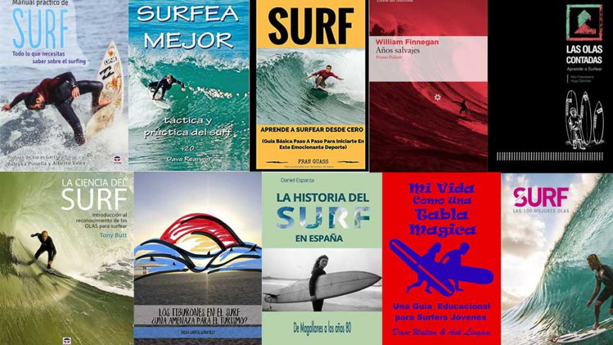10 libros de surf para regalar el día del libro