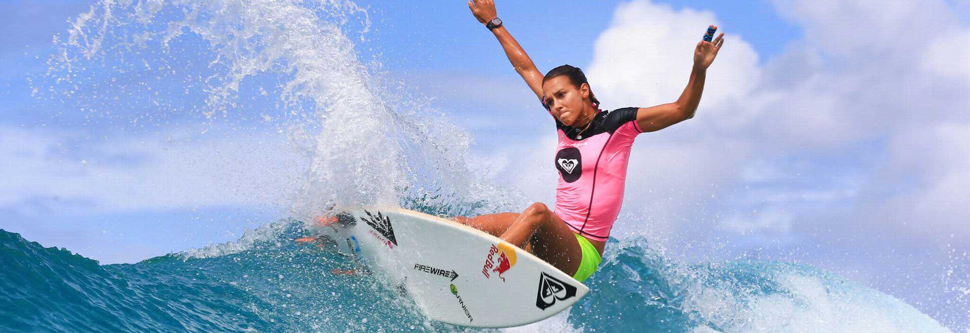 Nueva rutina evolutiva de surf