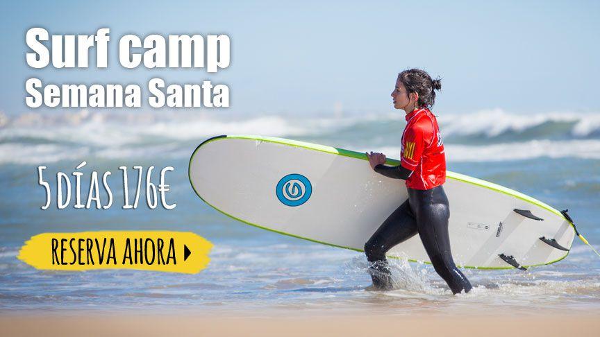Apúntate al Surf camp Semana Santa — 5 días por 176€